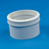 White PVC Cast Iron to Plastic Pipe Drain Fitting -- 31034