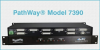 3-Channel DB25 A/B Network Switch, 24VDC -- Model 7390 -Image