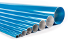 """Aluminum Pipes - 25 mm (1) - 9.35'"""" -- 0000000000_17 -- View Larger Image"""