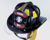 New Yorker Leather Fire Helmets - Image