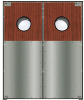 Restaurant Traditional Core Door -- Chase SC5024 PreConfigured Wood Core Door