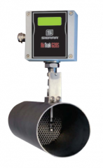 The Air-Trak Model 628S was originally designed to work specifically with Sierras Model BG-3 engine emissions sampling system as an extremely fast, accurate, and repeatable engine air intake mass flow meter.