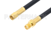 SMA Male to SMA Female Cable 12 Inch Length Using PE-C240 Coax -- PE38638-12 -Image
