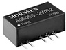 DC/DC - Fixed Input, SIP/DIP Unregulated Output (0.25-3W) -- A1212S-2WR2 -Image