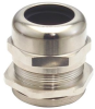 Dome Cap Cable Gland, nickel plated brass, PG11, cable range .20 - .39 -- BR11AA
