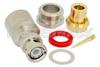 BNC Male Connector Clamp/Solder Attachment For PE-SR401AL, PE-SR401FL, RG401 -- PE4380 -Image