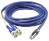 10ft S-Video Mini4 Male to Two BNC Male Digital Cable -- CSV2BNC-10 - Image