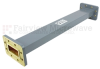 WR-137 Waveguide Section 12 Inch Length Straight Using CPR-137G Flange With a 5.85 GHz to 8.2 GHz Frequency Range in Commercial Grade -- SMF137SA-12 -Image