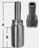 SHFHY SERIES - STAINLESS STEEL INCH TUBE STUB -- SHFHY-04-04TS - Image