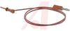 Plunger; Plug; Beryllium Copper; Gold; PVC; #20 AWG; 41 x 36; 105 degC; Red -- 70188640