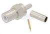 75 Ohm SMB Jack Connector Crimp/Solder Attachment for RG179, RG187 -- PE44872 -Image
