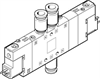 CPE18-M1H-5/3G-QS-8 Solenoid valve -- 170253-Image