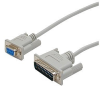StarTech.com Cross Wired DB9 to DB25 Serial Null Modem Cable -- SCNM925FM