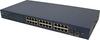 22 Port 10/100/1000 Base Copper and 1 or 2 Gigabit fiber Ports -- MODEL LD2224B