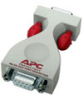 APC ProtectNet standalone surge protector for Serial RS232 lines (9 pin male to female) -- PS9-DCE