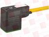 MURR ELEKTRONIK 7000-10061-0360500 ( MSUD VALVE PLUG FORM B 10 MM, PUR 3X0.75 YELLOW, UL/CSA, DRAG 5M ) -Image