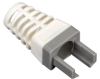 EZ-RJ45 CAT6 Strain-Relief Boot, 25-Pack, Gray -- C6EZ-BOOT-GY