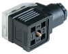 GDME Heavy Duty DIN Standard Field Attachable Connector -- GDME 2011 black - Image