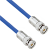 Plenum Cable Assembly with TRB 3-Slot Plug to Plug MIL-STD-1553 .242
