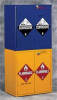 Jumbo Safety Cabinet,Flammables -- 4LNC2