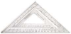 JOHNSON LEVEL 12 In. Aluminum Rafter Angle Square -- Model# RAS-120