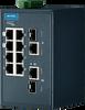 8 + 2G Combo ports Entry-Level Managed Switch Supporting Modbus/TCP -- EKI-5629CI-MB -Image