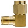 SMA Angled Plug to Jack Adapter -- SMA-AP/JN - Image