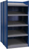 B-to-back closed shelving, sloped shelves (standalone/series possible) -- SRE2T-EE751001B - Image