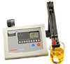 pH/mV TEMPERATURE METER - Benchtop, Digital, Model 445, Corning®, 478109, Electrode Ar ** D i s c o n t i n u e d ** -- 1151985