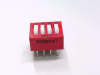 GRAYHILL INC 76SB04 ( DIP SWITCH 4POS ROCKER UNSEALED ) -Image