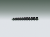 12 Pieces – 6 Pt. Standard Impact Metric Socket Set -- 356 - Image