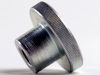 Knurled Nut High Steel 8 Zinc DIN466, M8X1.25 -- M50785