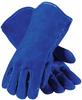 PIP Blue Bison 73-7007HO Blue Large (Left Hand Only) Split Cowhide Leather Welding Glove - 616314-21350 -- 616314-21350