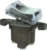 TP Series Rocker Switch, 1 pole, 2 position, Screw terminal, Above Panel Mounting -- 1TP4-3 - Image