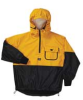 Rain Jacket with Hood,YellowithBlack,S -- 8FFA5