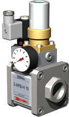 Air pressure regulator from co-ax valves inc.