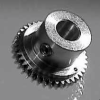 ANTI-BACKLASH SPUR GEARS -- AP64R-70