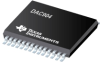 DAC904 14-Bit, 165MSPS SpeedPlus(TM) DAC Scalable Current Outputs between 2mA to 20mA -- DAC904EG4