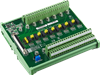 68-pin SCSI DIN-rail Wiring Board with CJC -- PCLD-8810I