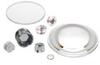 Firepolished Planoconvex Aspheric Lens -- LAF1516