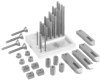 40 Piece Clamping Kit -- 45021 - Image
