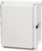 Enclosure, Hinged, Transparent Screw Cover With SS Lockable Latch -- ARCA-JIC AR865CHSSLT -Image