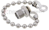 SMA Female Short Circuit Connector Cap with 3.5 Inch Chain -- SC2141C -Image