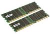 CRUCIAL 4GB KIT (2GBX2) DDR400 PC3200 184PIN DIMM Registered ECC -- CT2KIT25672Y40B