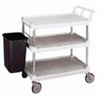 MXUC2436G-35 - MetroMax Utility Cart, 3 Shelf, 36