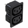 Power Entry Connectors - Inlets, Outlets, Modules - Unfiltered -- Q848-ND