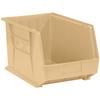 "18"" x 11"" x 10"" Ivory - Plastic Stack & Hang Bin Boxes -- BINP1811V -- View Larger Image"