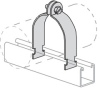Channel Conduit/Cable Clamp -- PS 1100 6