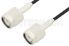 TNC Male to TNC Male Cable 36 Inch Length Using RG174 Coax -- PE3425-36 -Image