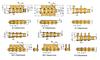 Single Pitch Conveyor Lambda Chain Attachment -- 80LKFRB